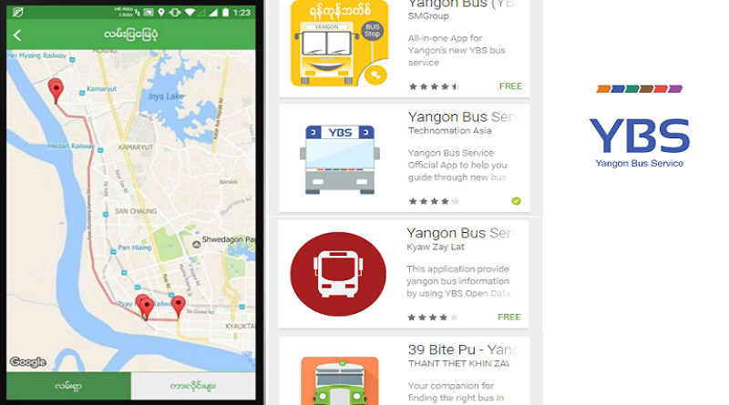 Convenient Bus Apps In Yangon Myanmar Tech Press