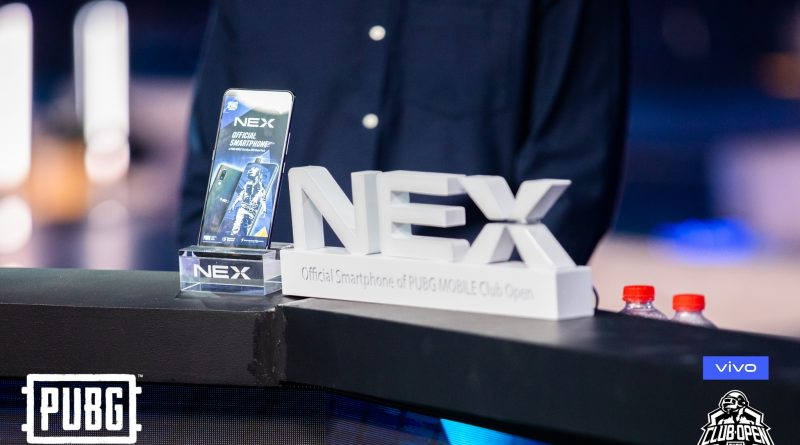 Vivo NEX introduce latest Gaming Upgrade at PUBG MOBILE Club Open Global 2019 Final match