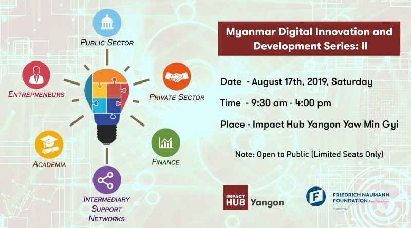 Workshop on Myanmar digital technology innovations and development to be held