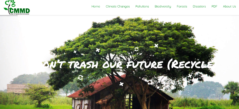 Launching the supportive website which provide the environmental database (