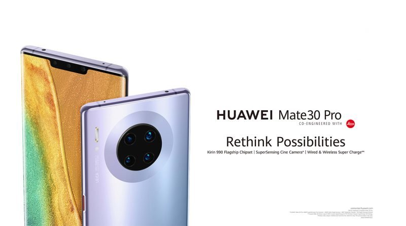 Introduction of HUAWEI MATE 30 PRO including sensible cameras