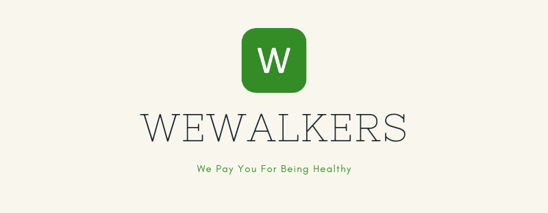 Pick up points and buy foods with WeWalker App while walking
