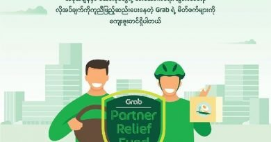 Grab Myanmar will support partner drivers and Food-Delivery riders for losses from COVID-19