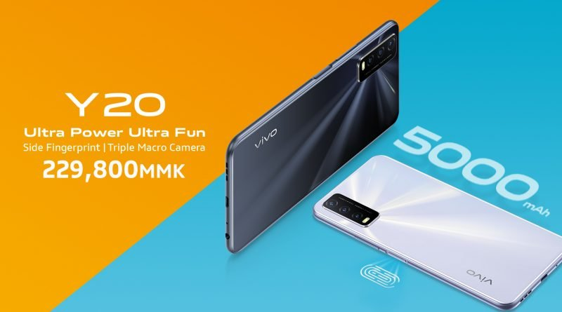 Vivo launches y20 with a long-lasting battery and ai macro triple camera