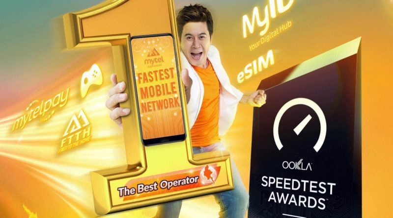Mytel Myanmar is officially recognized as the No.1 Fastest Network in Myanmar by Ookla – Speedtest