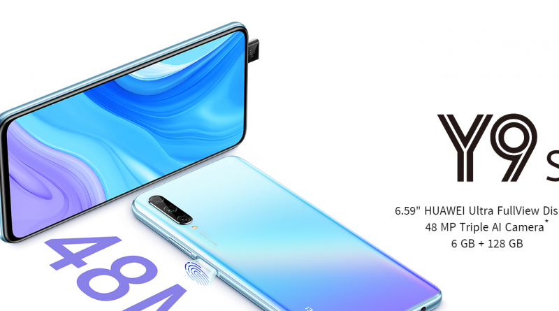 High-performance features of the HUAWEI Y9s smartphone