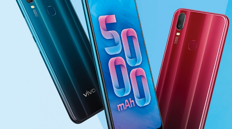 vivo Y11 smartphone, the reflection of raw gemstones