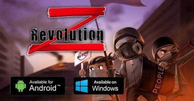 Z Revolution game developed by young game developers in Myanmar