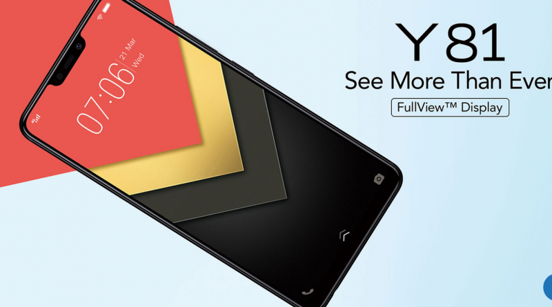 An affordable vivo Y81 smartphone that can run multiple apps at once